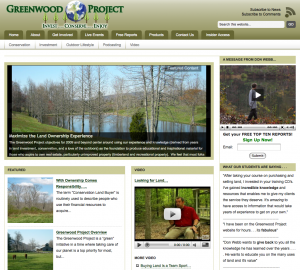 GreenwoodProject Site Launch