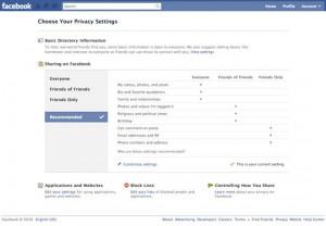 Facebook Security Updates