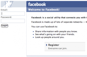Facebook Login Image