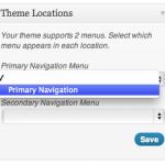WordPress Theme Navigation