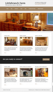 Littlebranch Farm Site Design