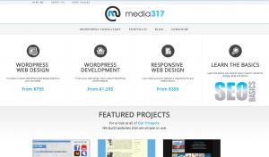 Media317 New Site Design