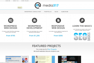Media317 New Site Design
