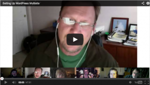 WordPress Multisite Hangout