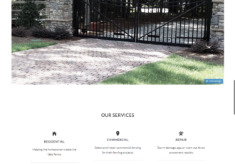 creative fence designs genesis website